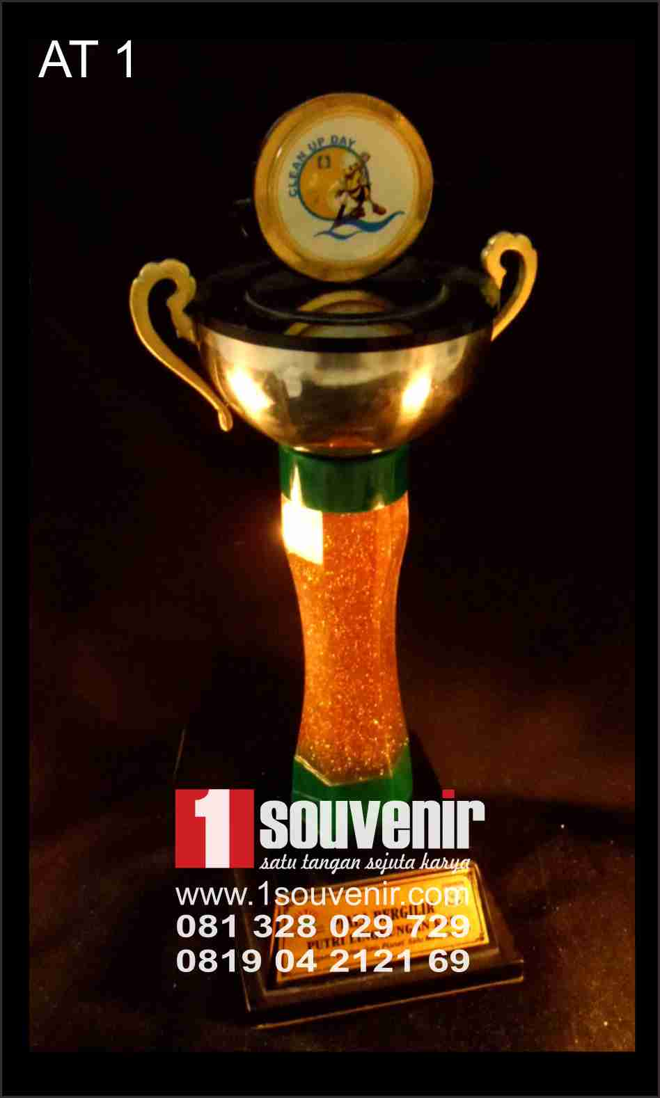 contoh award trophy