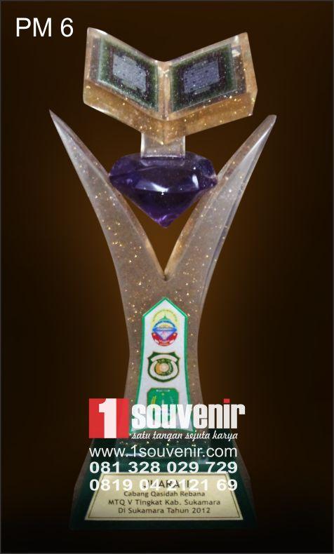 1souvenir.com - Pusat Pembuatan Piala MTQ