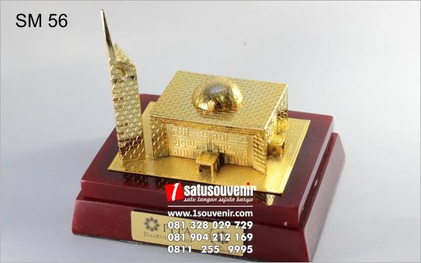 miniatur masjid elegan